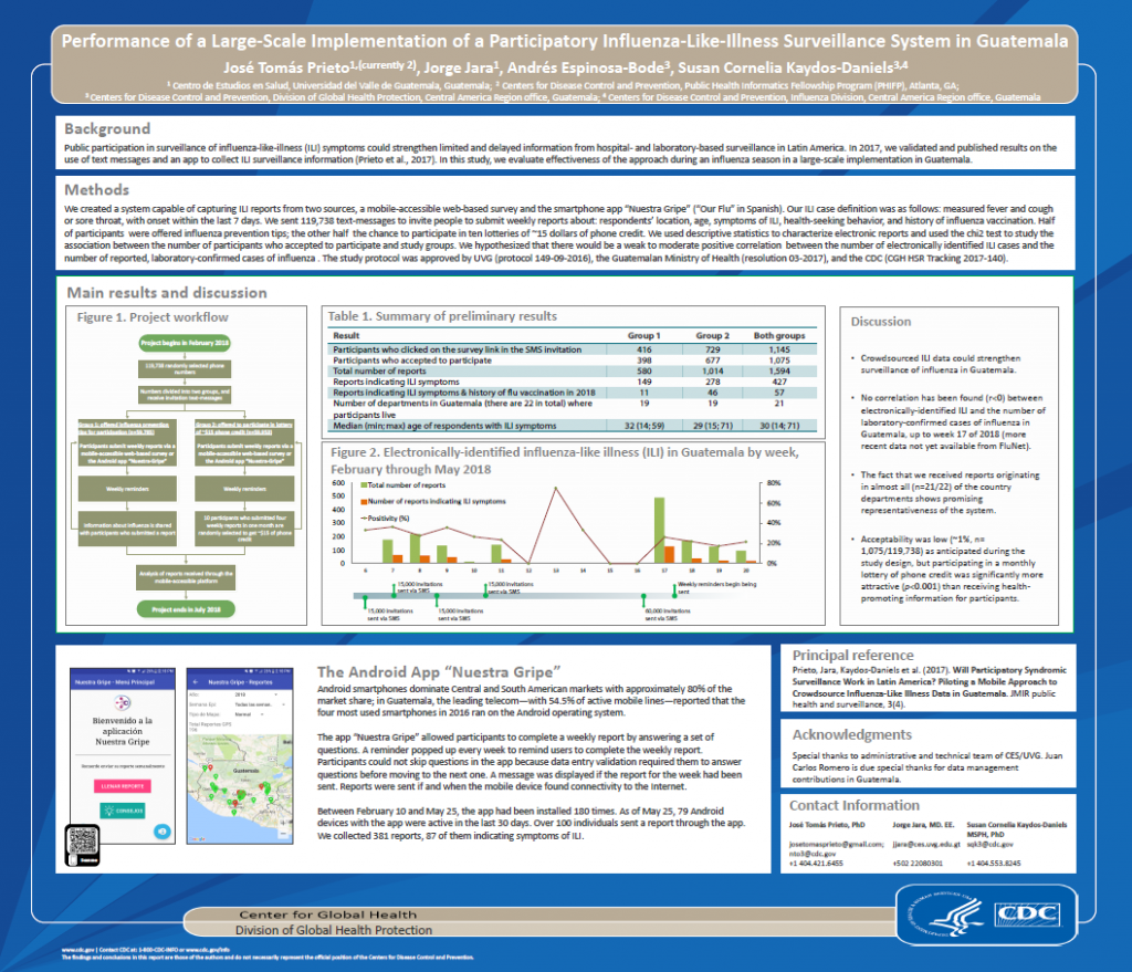 Performance of a Large-Scale Implementation of a Participatory Influenza-Like-Illness Surveillance System in Guatemala
